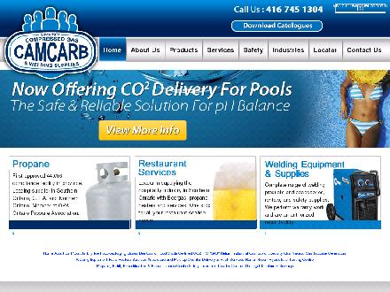 Camcarb CO2 Ltd (416-745-1304) - Onglet de site Web - http://www.camcarb.com