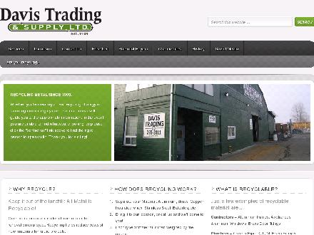 Davis Trading Ltd (604-696-4512) - Website thumbnail - http://www.davistrading.com