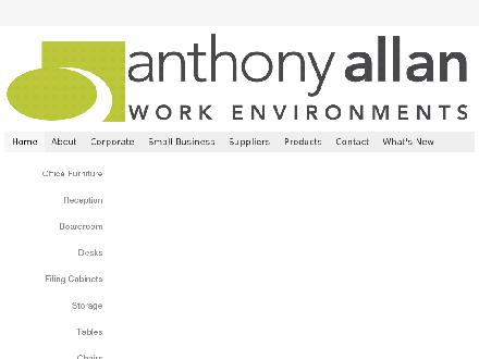 Anthony-Allan Work Environments (204-800-0768) - Onglet de site Web - http://www.anthonyallan.com