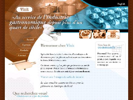 Vixit Products (Produits) (514-337-0814) - Website thumbnail - http://www.vixit.com