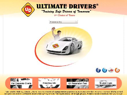 Ultimate Drivers Of Canada (289-812-0057) - Onglet de site Web - http://www.ultimatedrivers.ca