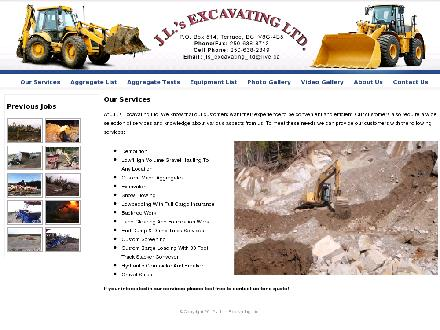 J L's Excavating Ltd (250-615-0986) - Website thumbnail - http://www.jlsexcavatingltd.com