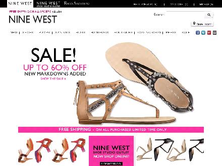Ninewest.ca - Website thumbnail - http://www.ninewest.ca