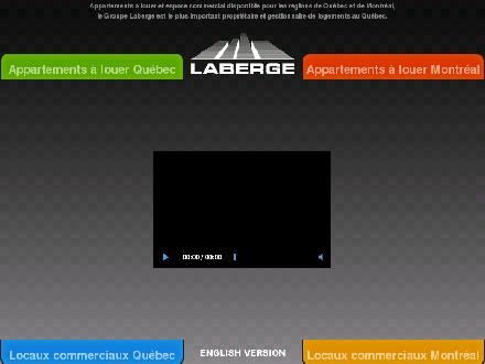 Groupe Laberge (418-661-3359) - Website thumbnail - http://www.laberge.qc.ca