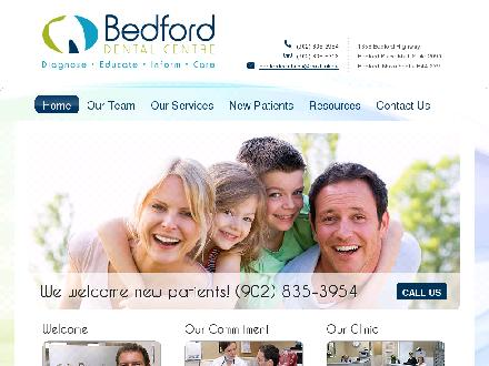 Bedford Dental Centre (902-835-3954) - Onglet de site Web - http://www.bedforddentalcentre.ns.ca