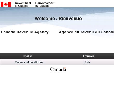 Canada Revenue Agency (CRA) (1-800-959-8281) - Website thumbnail - http://www.cra-arc.gc.ca