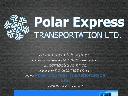 Polar Express Transportation Ltd (604-888-3729) - Website thumbnail - http://www.polarexpresstrans.com