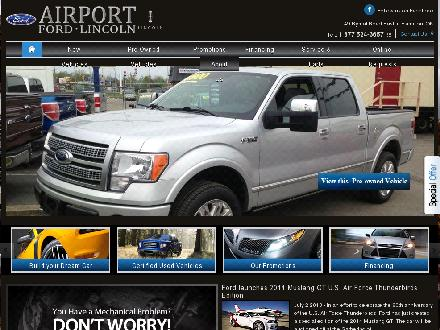 Airport Ford Lincoln Sales Ltd (905-388-6396) - Website thumbnail - http://www.airportfordlincoln.ca