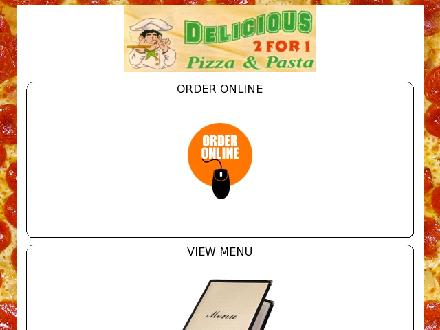 Delicious Pizza & Pasta Inc (250-475-1925) - Website thumbnail - http://www.deliciouspizza.ca