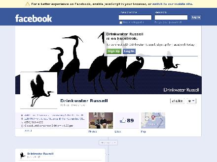 Drinkwater Russell (250-920-4290) - Website thumbnail - http://www.facebook.com/DrinkwaterRussell