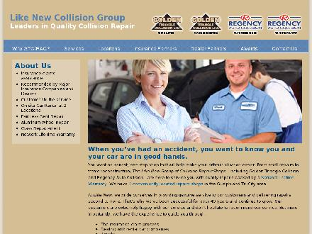 Golden Triangle Collision (519-824-5550) - Onglet de site Web - http://www.likenew.ca
