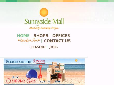 Sunnyside Mall (902-702-2072) - Website thumbnail - http://www.sunnysidemall.ca