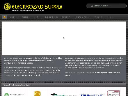 Electrozad Supply Inc (519-452-3444) - Website thumbnail - http://www.electrozad.com