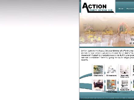 Action Party Rental Ltd (905-279-8877) - Website thumbnail - http://www.actionpartyrental.ca