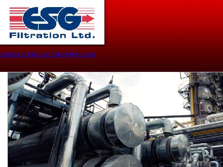 E S G Filtration Ltd (1-800-247-0202) - Website thumbnail - http://www.esgfiltration.com