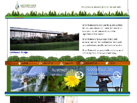 Greenspruce Lawn Care & Snow Removal Ltd (905-760-0069) - Website thumbnail - http://www.greenspruce.com
