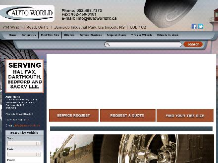 Auto World (902-468-7373) - Website thumbnail - http://autoworldfx.ca