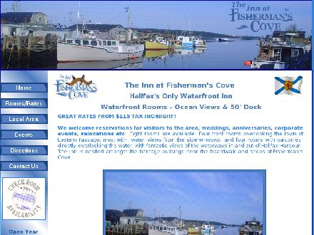 The Inn At Fisherman's Cove (902-465-3455) - Onglet de site Web - http://www.theinnatfishermanscove.com