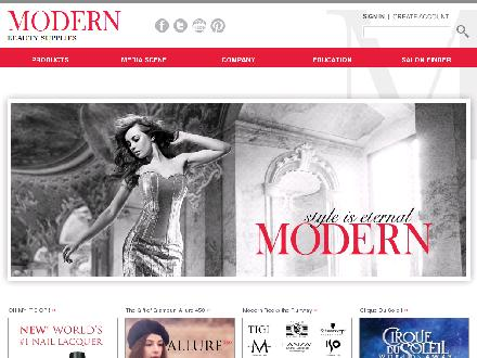 Modern Beauty Supplies Inc (780-424-6262) - Onglet de site Web - http://www.modernbeauty.ca