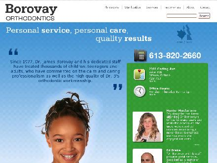 Borovay Orthodontics (613-820-2660) - Onglet de site Web - http://www.borovayorthodontics.com