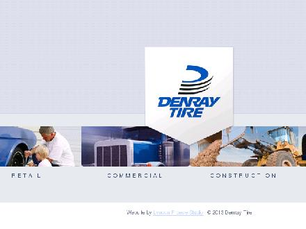 Denray Tire-Authorized Michelin Dealer (204-638-8904) - Onglet de site Web - http://www.denraytire.com