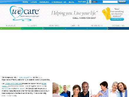 We Care Home Health Services (403-380-4441) - Onglet de site Web - http://www.wecare.ca