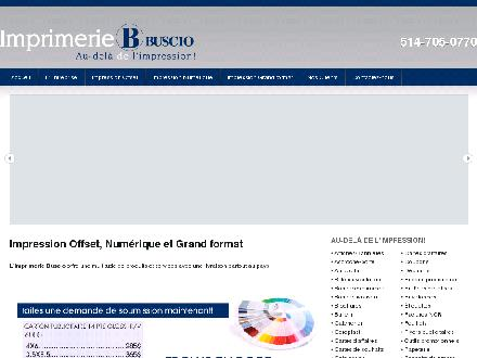 Buscio Inc (514-705-0770) - Onglet de site Web - http://www.buscio.com