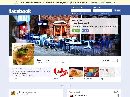 Sushi Kui Japanese Restaurant (905-727-8822) - Website thumbnail - http://www.sushikui.com