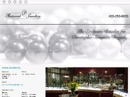 Fleetwood Jewellery Inc (403-252-8850) - Onglet de site Web - http://www.fleetwoodjewellery.ca