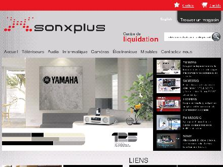 Son X Plus (450-349-4861) - Website thumbnail - http://www.sonxplus.com