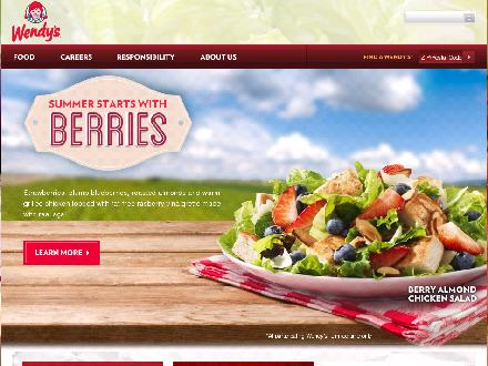 Wendy's - Leamington (519-326-1933) - Website thumbnail - http://www.wendys.ca