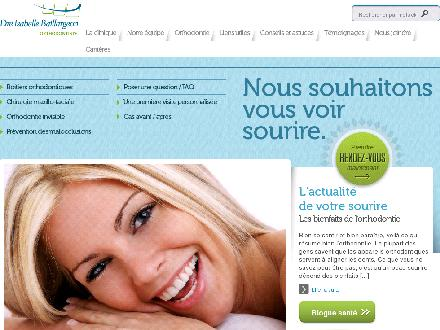 Dre Isabelle Baillargeon Orthodontiste (418-628-0966) - Website thumbnail - http://www.drebaillargeon.com
