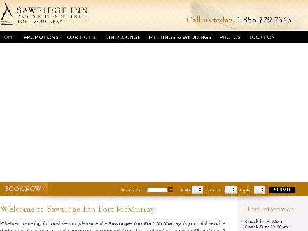 Sawridge Inn & Conference Centre The (780-791-7900) - Onglet de site Web - http://www.sawridgefortmcmurray.com