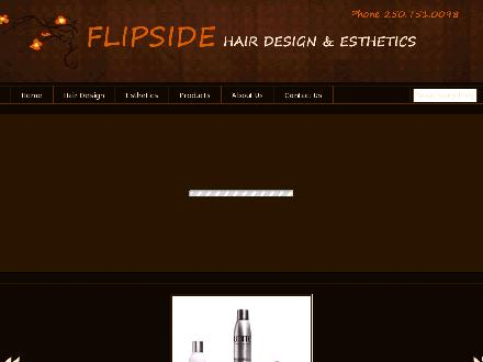 Flip Side Hair Design & Esthetics (250-751-0098) - Onglet de site Web - http://www.flipsidehairdesign.com