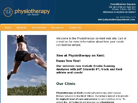 Physiotherapy On Kent (613-565-7273) - Onglet de site Web - http://www.physiotherapyonkent.com