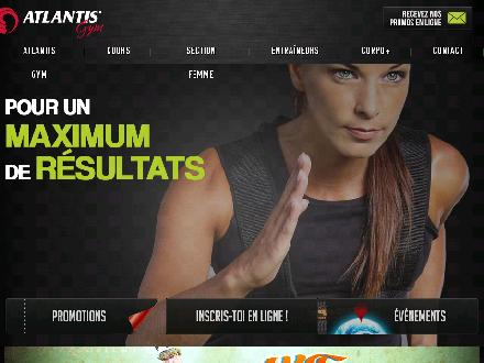 Atlantis Centre De Conditionnement Physique (450-629-1500) - Website thumbnail - http://www.atlantis-gym.com