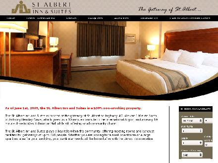 St Albert Inn & Suites (780-459-5551) - Website thumbnail - http://www.stalbertinn.com