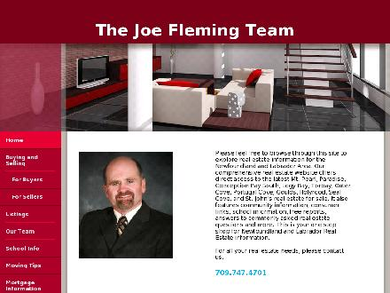 Fleming Joe Real Estate Team (709-701-3046) - Website thumbnail - http://www.joefleminghomes.com