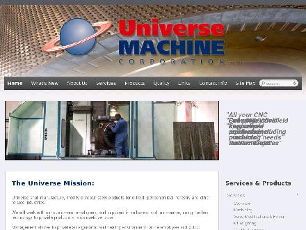 Universe Machine Corporation (780-468-5211) - Website thumbnail - http://www.umcorp.com