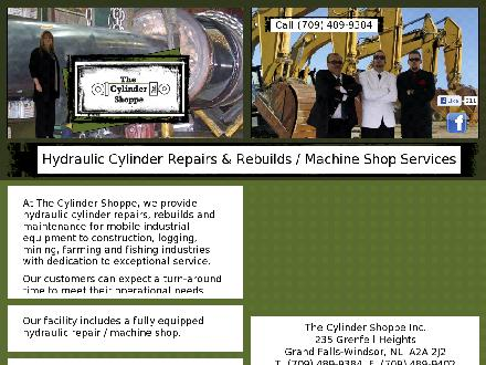The Cylinder Shoppe (709-489-9384) - Website thumbnail - http://www.thecylindershoppe.ca