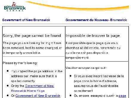 SERVICE NEW BRUNSWICK TELESERVICES (506-684-7901) - Website thumbnail - http://www.youthinfo.ca