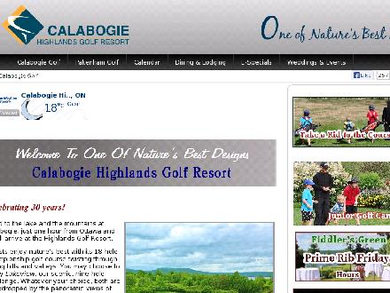 Pakenham Highlands Golf Club (613-624-5550) - Onglet de site Web - http://www.highlandsgolfclubs.com