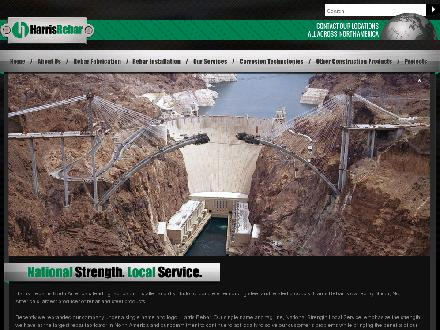 Harris Rebar (902-468-2526) - Website thumbnail - http://www.harrisrebar.com