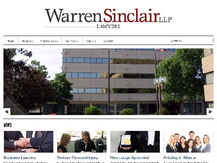 Warren Sinclair (403-343-3320) - Onglet de site Web - http://www.warrensinclair.com