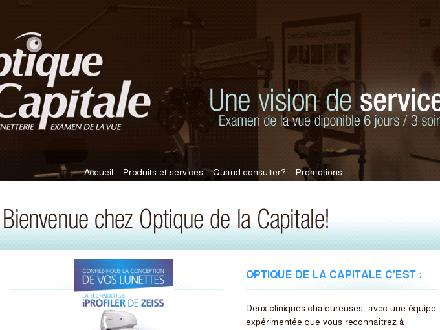 Optique De La Capitale Inc (418-627-4222) - Onglet de site Web - http://www.optiquedelacapitale.com
