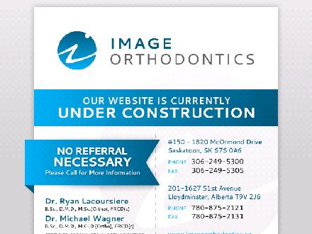 Image Orthodontics (780-875-2121) - Onglet de site Web - http://www.imageorthodontics.ca