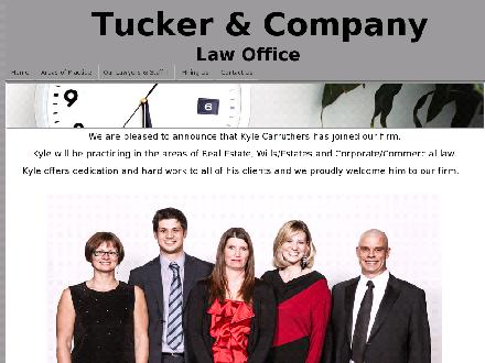 Tucker &amp; Company (867-667-2099) - Onglet de site Web - http://www.tuckerandcompany.ca/Whitehorse-Lawyers.php