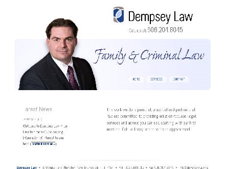 Dempsey Law (506-204-8045) - Onglet de site Web - http://www.dempseylaw.ca