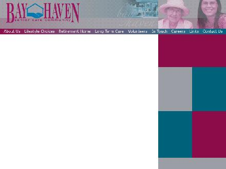 Bay Haven Senior Care Community (705-445-6501) - Onglet de site Web - http://www.bayhaven.com