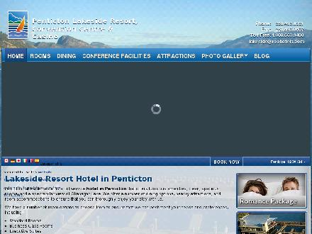 Penticton Lakeside Resort The - Onglet de site Web - http://www.pentictonlakesideresort.com